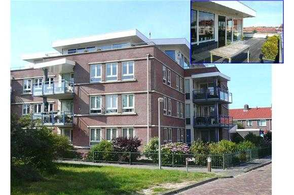 Immobilien Niederlande: Maritime luxus Penthousewohnung an der Nordsee mit Blick auf Texel