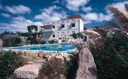 Immobilien Spanien herrenhaus Adeje Haus kaufen Klassische Herrenhausfinca mit mehrern Gästehäusern, Pool und grandiosem Blick nach La Gomera!