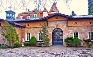 Immobilien Österreich schloss Bad Vöslau Haus kaufen Prachtvolle Schlossähnliche Jugendstil-Villa in Bad Vöslau (Nähe Baden bei Wien) zu verkaufen.