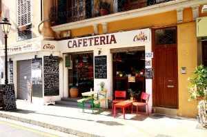 Immobilien Spanien gastronomie Palma de Mallorca Cafe' & Pizzeria in Top Lage Palma