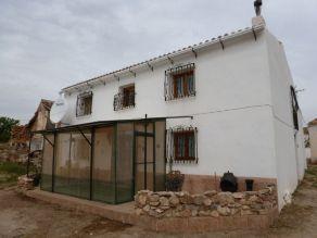 Immobilien Spanien landhaus Chirivel Haus kaufen Rustikales, traditionelles Landhaus auf einem Grundstück von 5.132m² bei Chirivel (Almería)