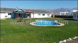 Rinconada de los Andes neues Haus, Pool, Ausblick / EfG 11270-K