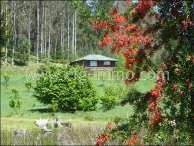 Patagonien Immobilie 5,8 Hektar, 2 Häuser, See / EfG 8649-K