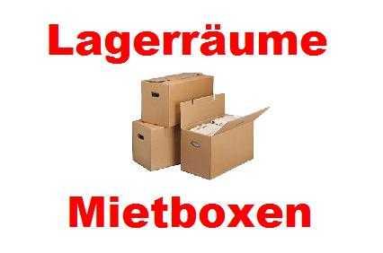 Lagerräume, Mietboxen